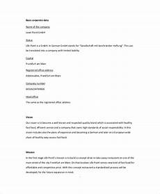 Restaurant Business Plan Examples Restaurant Business Plan 22 Pdf Word Google Docs