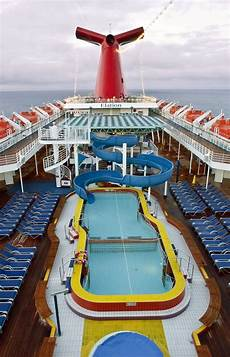 carnival elation cruise from jacksonville pool and water
