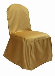 gold lamour chair cover
