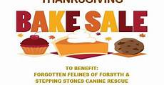 Thanksgiving Bake Sale Stepping Stones Canine Rescue November 18 Thanksgiving