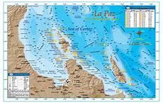 Baja Charts La Paz Baja Directions
