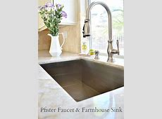 White and Elegant Kitchen Remodel Idea   Elegant kitchens, Best kitchen sinks, Kitchen sink faucets