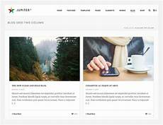 Blog Layouts How To Choose A Blog Page Layout In Jupiter For Your