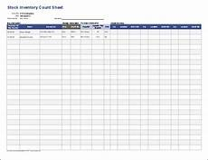 Stock Inventory Format Sample Stock Inventory Control Spreadsheet With Count Sheet
