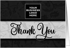 Business Thank You Cards With Logo Business Thank You Cards From Greeting Card Universe