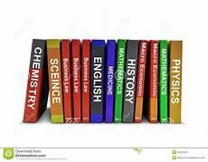 education books row of education books stock image image 34434321