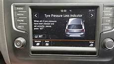 Volkswagen Tiguan Tire Pressure Light How To Reset Tyre Pressure Light Vw Polo Youtube