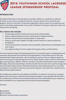 How To Cover Letter Writing A Sports Sponsorship Application With Samples