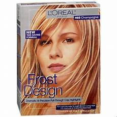 Loreal Frost And Design 2 Packets Of Lightening Powder L Oreal Frost Amp Design Highlights H85 Champagne 1 Each