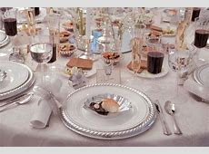 Disposable China for Wedding Receptions   Disposable