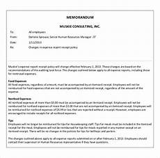 Example Business Memos 12 Business Memo Templates Free Sample Example Format
