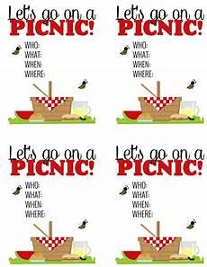 Family Picnic Invitation Surprise Breakfast Picnic Free Printable Picnic