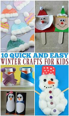 10 simple and winter crafts for your
