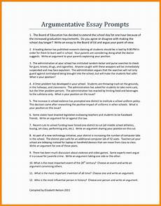 Essay Examination 54 Persuasive Essay Examples For High School Students Exam