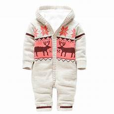 baby rompers winter thick climbing clothes newborn boys