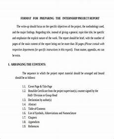 Project Reports Format Free 21 Sample Project Reports In Pdf Ms Word