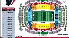 Arbor Stadium Seating Chart 2004 Reliant Stadium Seating Chart