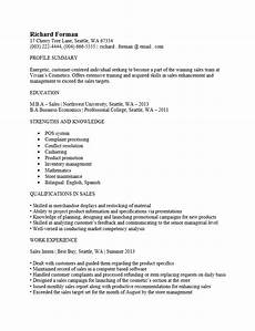 Acquired Skills Resume Entry Level Sales Associate Resume Template Resume Templates