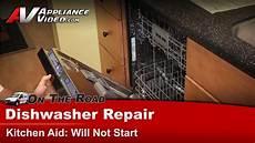 Kitchenaid Dishwasher Troubleshooting Clean Light Dishwasher Repair Will Not Start Repair Amp Diagnostc