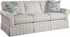 braxton culler living room benton skirted sofa 628 011