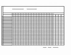 Free Printable Attendance Chart Monthly Attendance Sheet Free Download