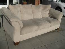 uhuru furniture collectibles sold microsuede sofa 100