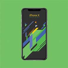 Iphone X Wallpaper Vector by Iphone X Mockup Design Template Vector Premium