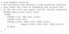 Lisp Programming Solved Lisp Programming Language Question Suppose That T