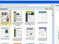 Where Are Resume Templates In Word 2007 Word 2007 Templates Amp New Documents Youtube