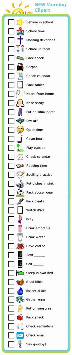 Make Your Own School Schedule The 25 Best Morning Routine Checklist Ideas On Pinterest