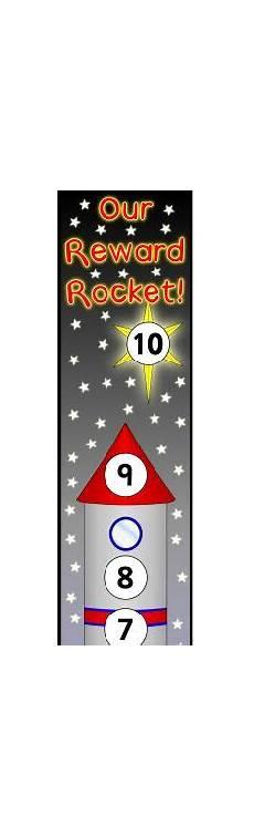 Rocket Ship Reward Chart Charts Rockets And Rewards Chart On Pinterest
