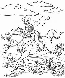 princess coloring page through the