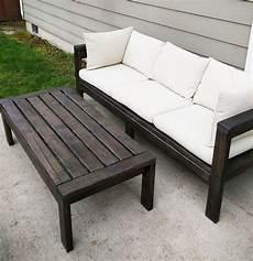 2x4 outdoor sofa white
