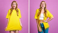 diy clothing and fashion hacks cool clothes upgrade