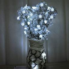Wire Christmas Tree With Led Lights 1m 2m 3m Copper Wire Led String Light Snow Flakes