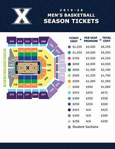 Reeves Athletic Complex Seating Chart Men S Basketball Ticket Information Xavier University