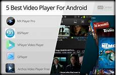 android player best 5 best player for android