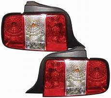 Ford Mustang Euro Lights Ford Mustang 05 09 Euro Spec Rear Lights Red
