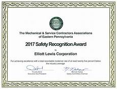 Safety Award Certificate Template Safety Program Elliott Lewis
