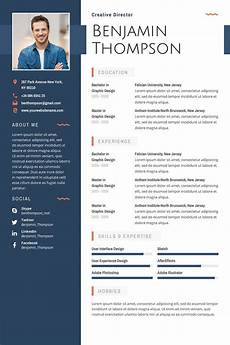 Free Cv Template Doc 40 Best 2020 S Creative Resume Cv Templates Printable Doc