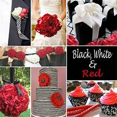 red wedding accents