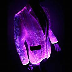 light up coats light up jacket glow in the and fiber optic ymyw