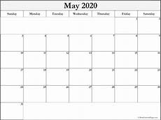 Appointment Calendar 2020 Printable May 2020 Blank Calendar Collection