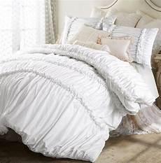 100 cotton white princess bedding set