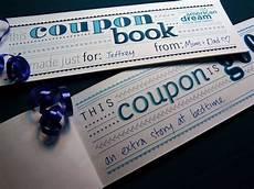 Blank Coupon Books Handmade Gift Ideas