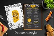 Menus Designs For Restaurants Food Menu Template For Restaurant Creative And Modern