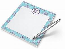 Notepad Designs Design Your Own Notepad Personalized Youcustomizeit