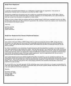 How To Use A Letter Of Recommendation Sample Letter Of Recommendation Format 8 Examples In