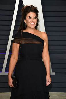 monica lewinsky at vanity fair oscar party in beverly