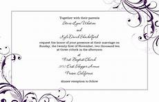 How To Make Invitations On Microsoft Word Free Microsoft Word Wedding Invitation Templates